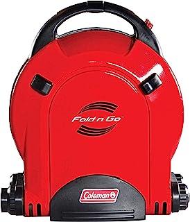 Coleman Fold N Go InstaStart 2-Burner Propane Stove, Red