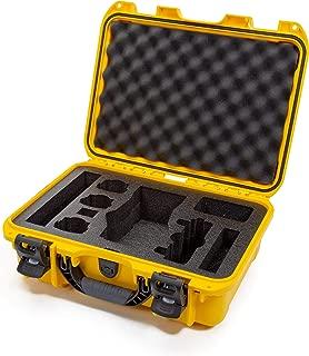 Nanuk DJI Drone Waterproof Hard Case with Custom Foam Insert for DJI Mavic 2 Pro/Zoom - Yellow - Made in Canada