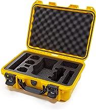 Nanuk DJI Drone Waterproof Hard Case with Custom Foam Insert for DJI Mavic 2 Pro/Zoom - Yellow