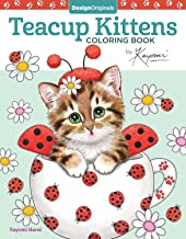 Teacup Kittens Coloring Book (Design Originals) 32 Adorable Expressive-Eyed Cat Designs from Illustrator Kayomi Harai on High-Quality, Extra-Thick Perforated Pages that Resist Bleed Through PDF