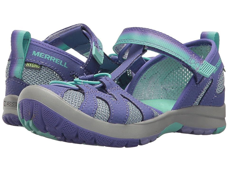Merrell Kids Hydro Monarch 2.0 (Toddler/Little Kid/Big Kid) (Blue/Mint) Girls Shoes