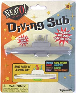 Big Game Toys 1950 Cereal Toy Baking Powder Diving SUB Soda New Submarine VTG Stocking Stuffer