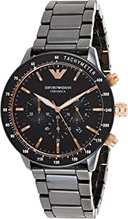 Emporio Armani Gents Wrist Watch, Black AR70002