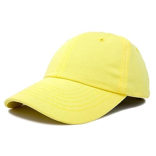 12bc0b566f58a DALIX Baseball Cap Dad Hat Plain Men Women Cotton Adjustable Blank  Unstructured Soft
