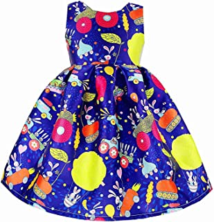 Surprise S European Style Summer Girl Dress Sleeveless Floral Child Ball Gown Kids Dresses Wedding Dress 2-10Y