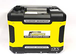 Waspper W2000IG Inverter Generator Max 2000 Watt Rated 1700 Watt Gas Super Quiet Portable CARB EPA Compliant