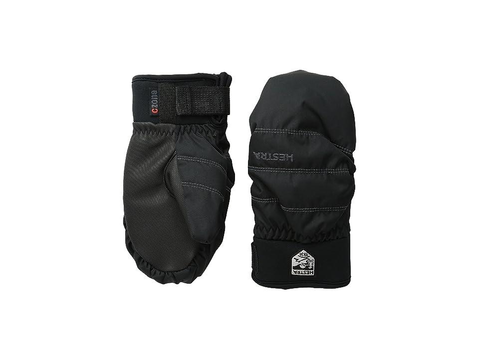 Hestra Czone Primaloft Junior Mitt (Black) Ski Gloves