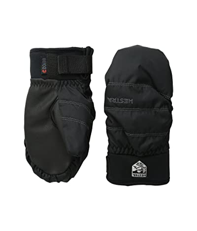 Hestra Czone Primaloft Junior Mitt (Black) Ski Gloves
