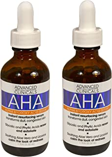 Advanced Clinicals Alpha Hydroxy Acid Cream For Face And Body 16oz Anti-aging 50% OFF Health & Beauty