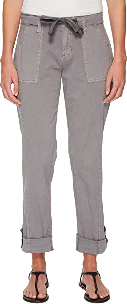 Juliet Tabbed Cuff Pants in Breezy Poplin