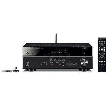 Yamaha MusicCast RX-V481D Sintoamplificatore AV 5.1, Nero