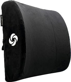 SAMSONITE, Premium Plush Lumbar Support Pillow for Chair - Elevates Lower Back Comfort Zone - 100% Pure Memory Foam - Perf...