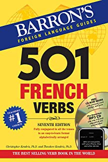 501 French Verbs (Barron's 501 Verbs)