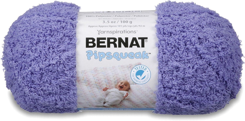 Bernat Pipsqueak Yarn Max 70% In stock OFF 3.5 Grape Ball oz 1