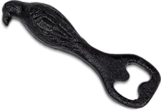 """Abbott Collection 27-IRONAGE-411 Crow Bottle Opener-Blk-5""""L, 5 inches long, Black"""