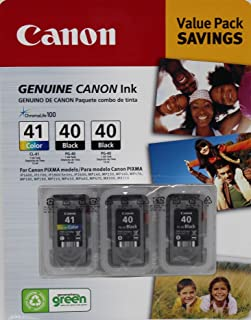 Canon 1 CL-41 and 2 PG-40 Ink Cartridges Value Set