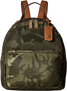 Tommy Hilfiger - Julia Camo Nylon Dome Backpack