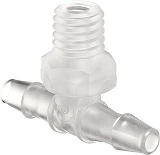 Classic Barbs Value Plastics Tee Connector Kynar PVDF 1//16ID Tube 1//16ID Tube