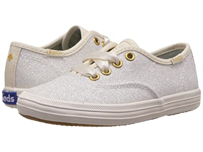 Keds x kate spade new york Kids Champion Glitter (Toddler) (Cream) Girl