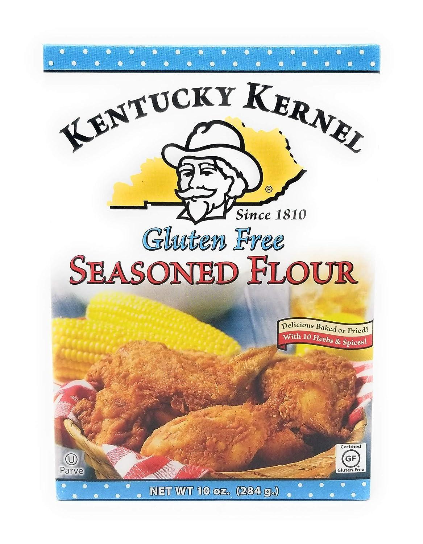 Kentucky Kernel Gluten Free Seasoned Flour 6 Ounce 10 Pack Industry No. 1 of Recommendation