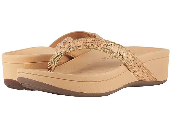 VIONIC  High Tide (Gold Cork) Womens Sandals