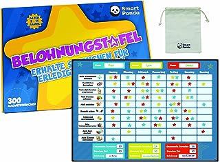 Niemiecka tabela nagród dla dzieci firmy SmartPanda - magnetyczna tabela z gwiazdkami inspiruje do dobrego zachowania - id...