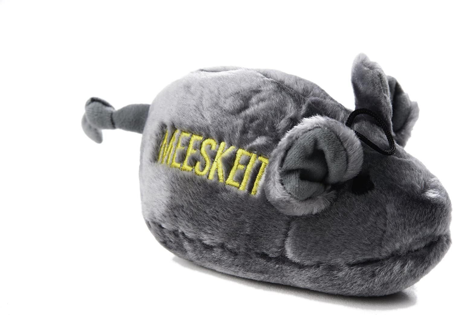 Copa Judaica Chewish Treat Meeskeit Mouse Squeak Plush Dog Toy, 8 by 4Inch