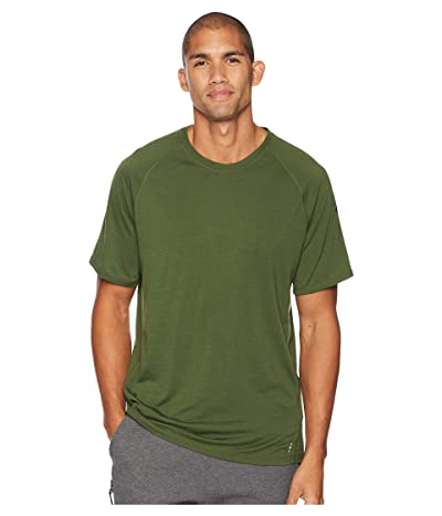 Smartwool Merino 150 Baselayer Pattern Short Sleeve (Chive) Men