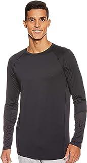 Under Armor, Mk1 Ls, قميص بأكمام طويلة، للرجال، (/ رمادي متوهج)، M