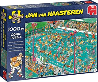 Jumbo 19094 Jan Van Haasteren-Hockey Championship 1000 Piece Jigsaw Puzzle