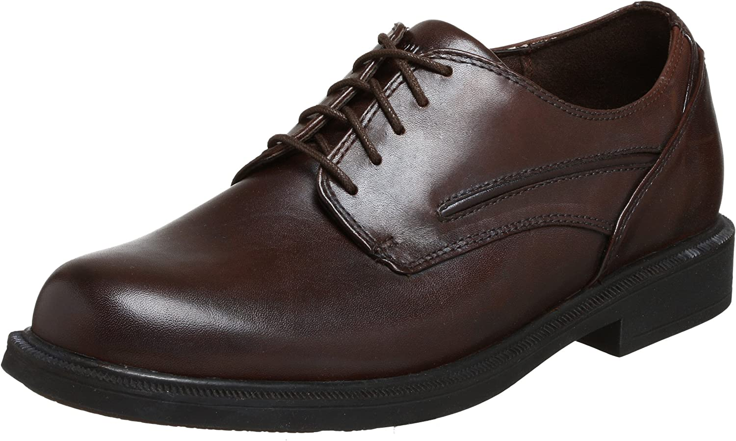 Dunham Men's Burlington Waterproof Oxford,Smooth Brown,10.5 D US