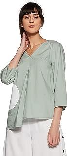 VERO MODA Women's Polka Dot Regular Fit Top