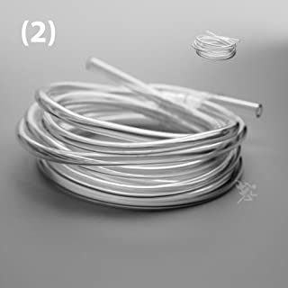 (12' Feet) Premium Clear ID High Performance Gas Oil Injection Fuel Line Hose Pulse Tubing for 1/8