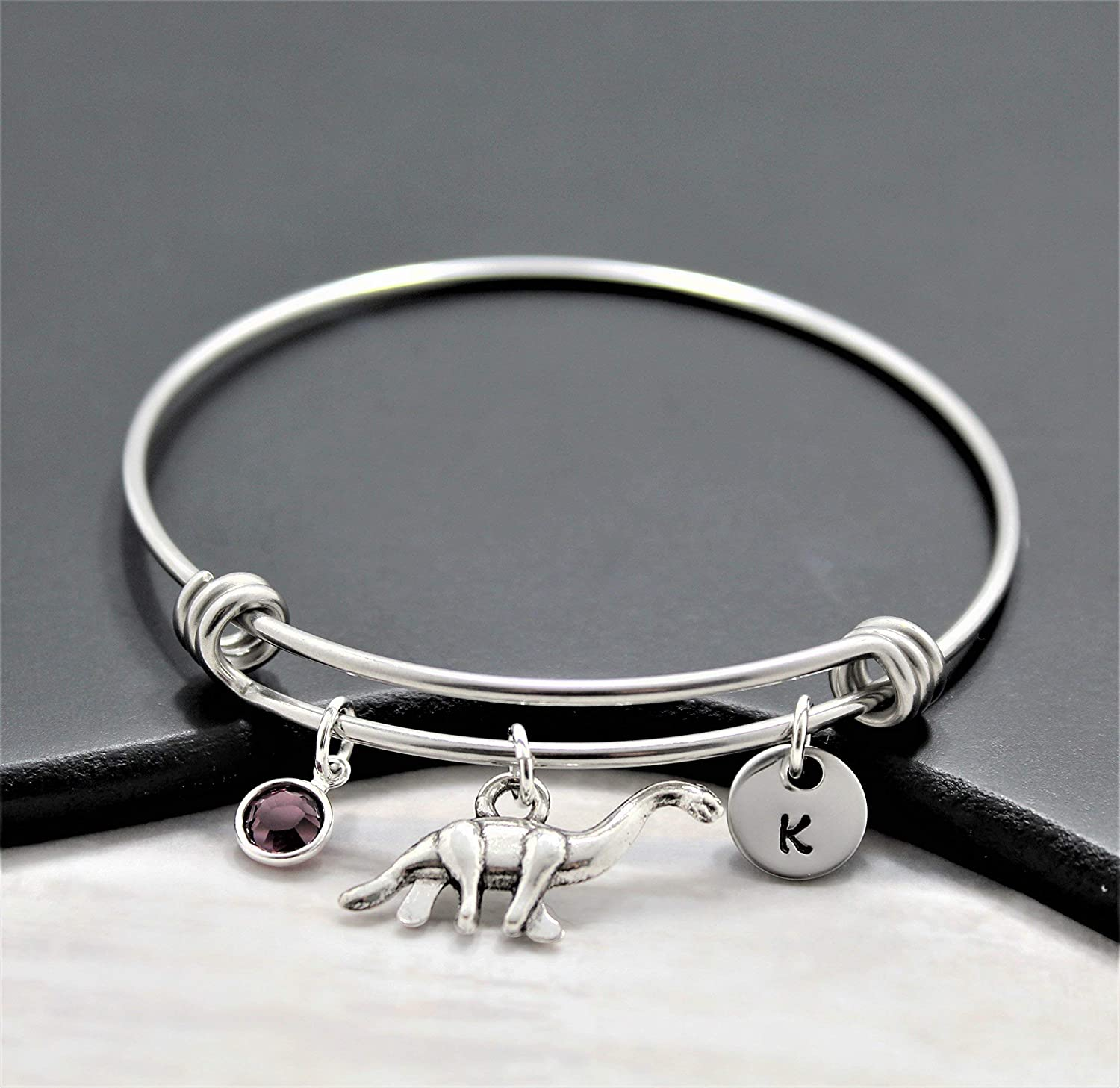 Dinosaur Bracelet - Birthday Gift Ideas Dino J A surprise price is realized Outlet SALE Silver