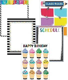 Creative Teaching Press Wall Chart Bold & Bright Classroom Essentials 5-Chart Pack (2255)