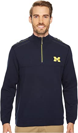 Tommy Bahama - Michigan Wolverines Collegiate Campus Flip Sweater