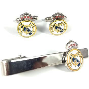 Gemelos de Camisa Real Madrid Acero: Amazon.es: Ropa y accesorios