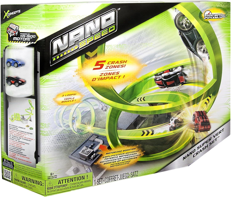 ¡envío gratis! Nano Speed 6018976 - - - Pista con 2 Coches en Miniatura  barato