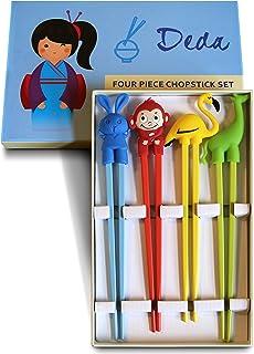 Kids Chopsticks - Training Chopsticks for Children, Easy to Use Chopsticks, Reusable Chopstick Set, Study Learning tablewa...