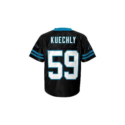 Luke Kuechly Carolina Panthers Black Home Player Jersey Youth fc61c8cfb