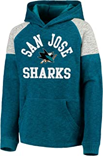 Outerstuff NHL Youth 8-20 Team Color Hat Trick Pullover Sweatshirt Fleece Hoodie