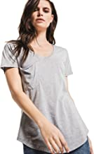 Z SUPPLY Women's The Pocket Tee Relaxed Fit Burnout