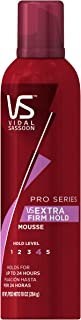 Vidal Sassoon Pro Series Extra Firm Hold Mousse 10 Oz