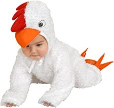 Charades Little Chick Baby/Toddler Costume, White, Infant