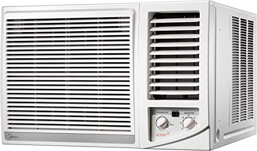 Midea Super Quiet Window AC - 1.5 ton MWT2F2-18CA - Piston Compressor - Free 5-year full warranty