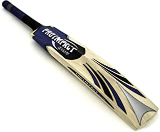 Pro Impact Cricket Bat - Full Size, Lightweight & Strong - Ideal Training or Practice for Home or Club Play