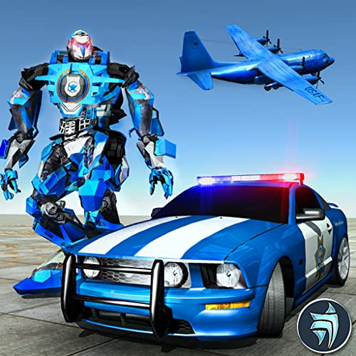Roboter verwandeln Muskel Car Robot Flugzeug Transport