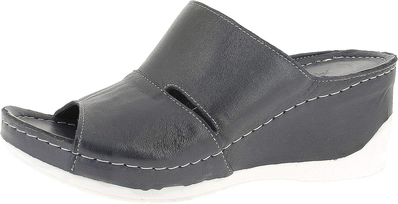 Andrea 即納 Conti お見舞い Women's Platform Sandals Flatform