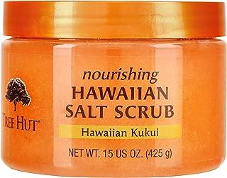 Tree Hut Nourishing Hawaiian Salt Scrub Hawaiian Kukui, 15oz, Ultra Hydrating and Exfoliating Scrub for Nourishing Essential Body Care (Pack of 3)