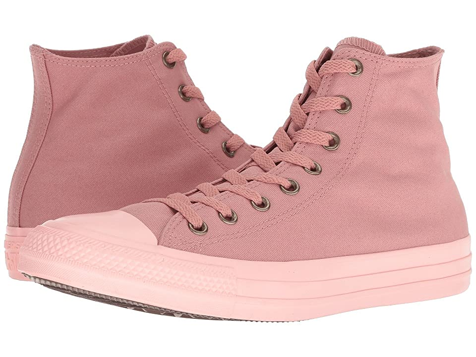 Converse Chuck Taylor All Star Botanical Neutrals Hi (Rust Pink/Rust Pink/Storm Pink) Classic Shoes